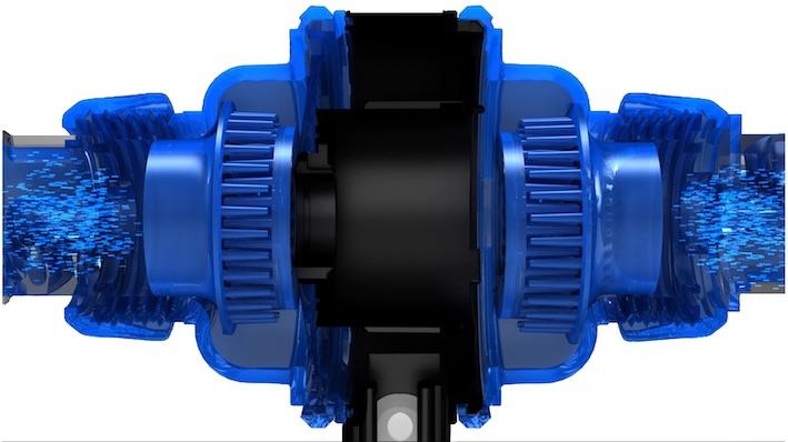 La pompe Turbine Duo à deux entrées et deux sorties.