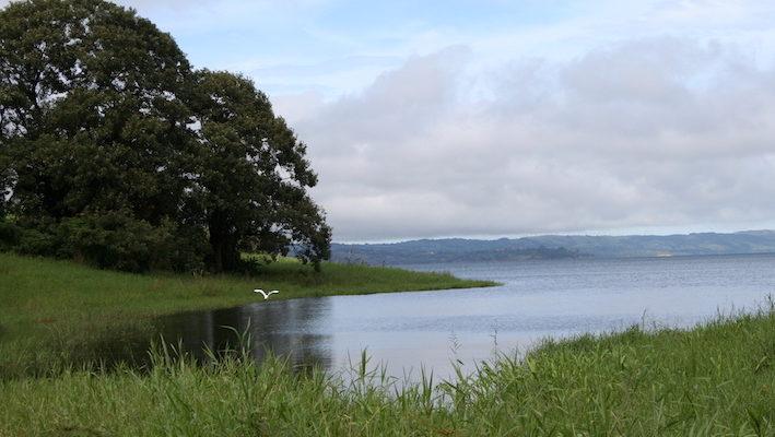 Le lac Arenal au nord-ouest du Costa Rica.