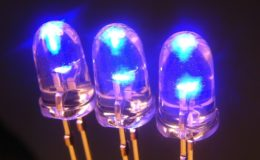 Les diodes électroluminescentes (LED) offrent des perspectives intéressantes d'économie d'énergie. Elles seront incontournables dans quelques années. Photo : © Guy Pracros