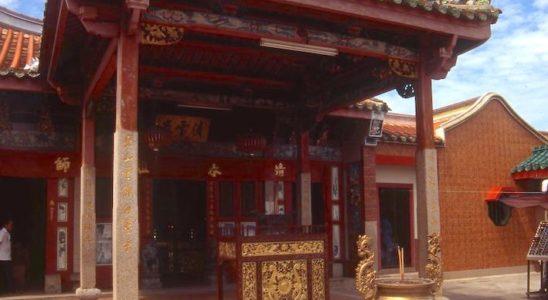 L'entrée principale du Temple des Serpents de Penang