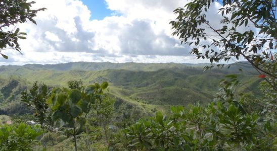 Du campement, la vue sur la réserve est prodigieuse.