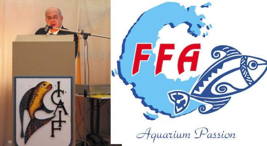 En tant que Président de la Fédération Française d'Aquariophilie, Philippe Ancelot donne des conférences pour mieux faire connaître cette entité, mais aussi sensibiliser le public aquariophile européen aux défis d'aujourd'hui. Il était ainsi présent en novembre 2011 lors d'une grande manifestation organisée par l'ICAIF en Belgique, à Bruxelles. Photo : Philippe Chevoleau
